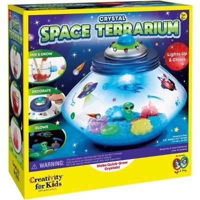 Crystal Space Terrarium - Creativity for Kids