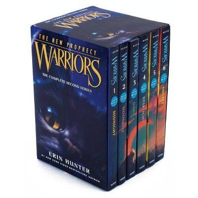 Warriors: The New Prophecy Set - by  Erin Hunter (Paperback)