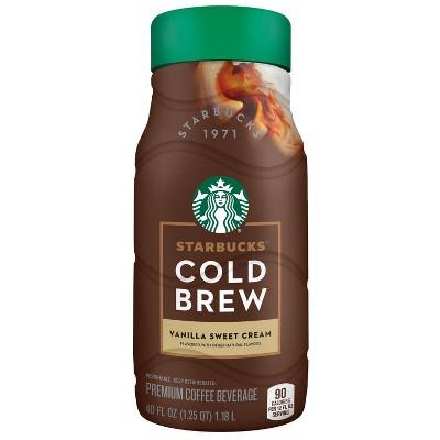 Starbucks Vanilla Sweet Cream Cold Brew - 40 fl oz