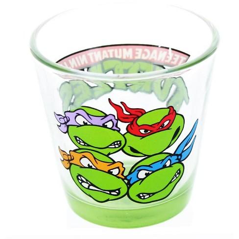 Just Funky Teenage Mutant Ninja Turtles Group Oversized 3oz Shot Glass - image 1 of 1