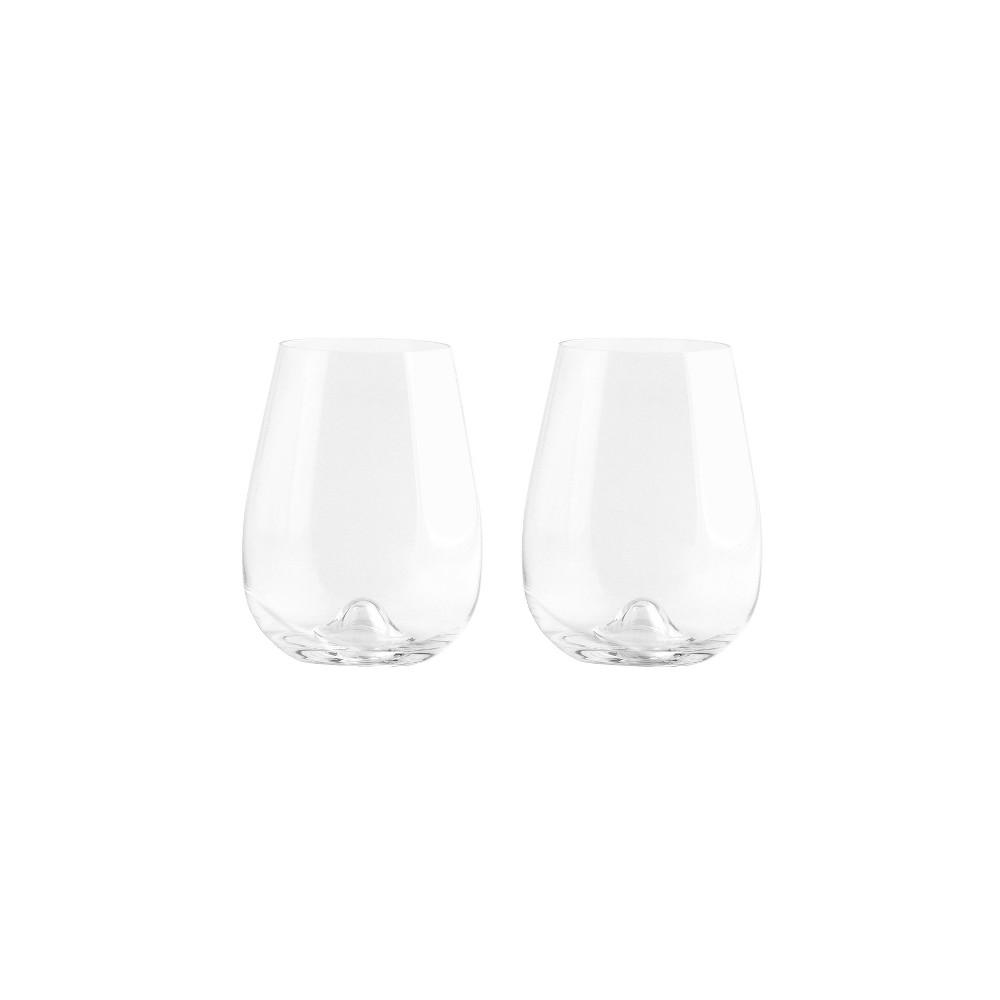 Image of 16.8oz 2pk Crystal Vulcano Tumbler Glasses - Stoelzle