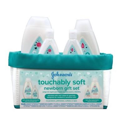 Johnson's Cotton Touch Soft Newborn Gift Set