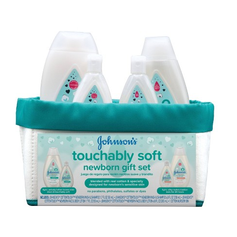 Johnson's Cotton Touch Soft Newborn Gift Set - image 1 of 4