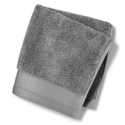 Washcloth Reserve Solid Bath Towels And Washcloths Lead - Fieldcrest®