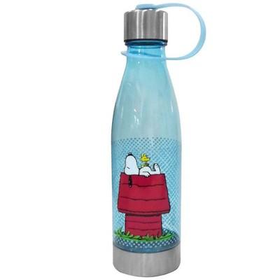 Peanuts 20oz Plastic Tritan Water Bottle - Silver Buffalo