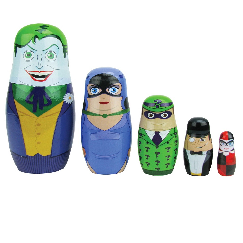 DC Comics Batman Rouges Nesting Dolls