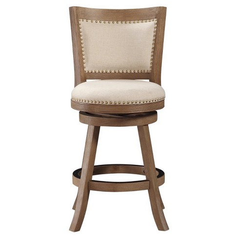Boraam Melrose Distressed 24 Quot Counter Stool Driftwood