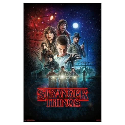 Stranger Things One Sheet Poster 34x22 - Trends International - image 1 of 2