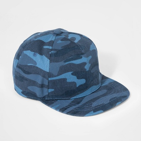 Boys' Camo Baseball Hat - art class™ Blue - image 1 of 2