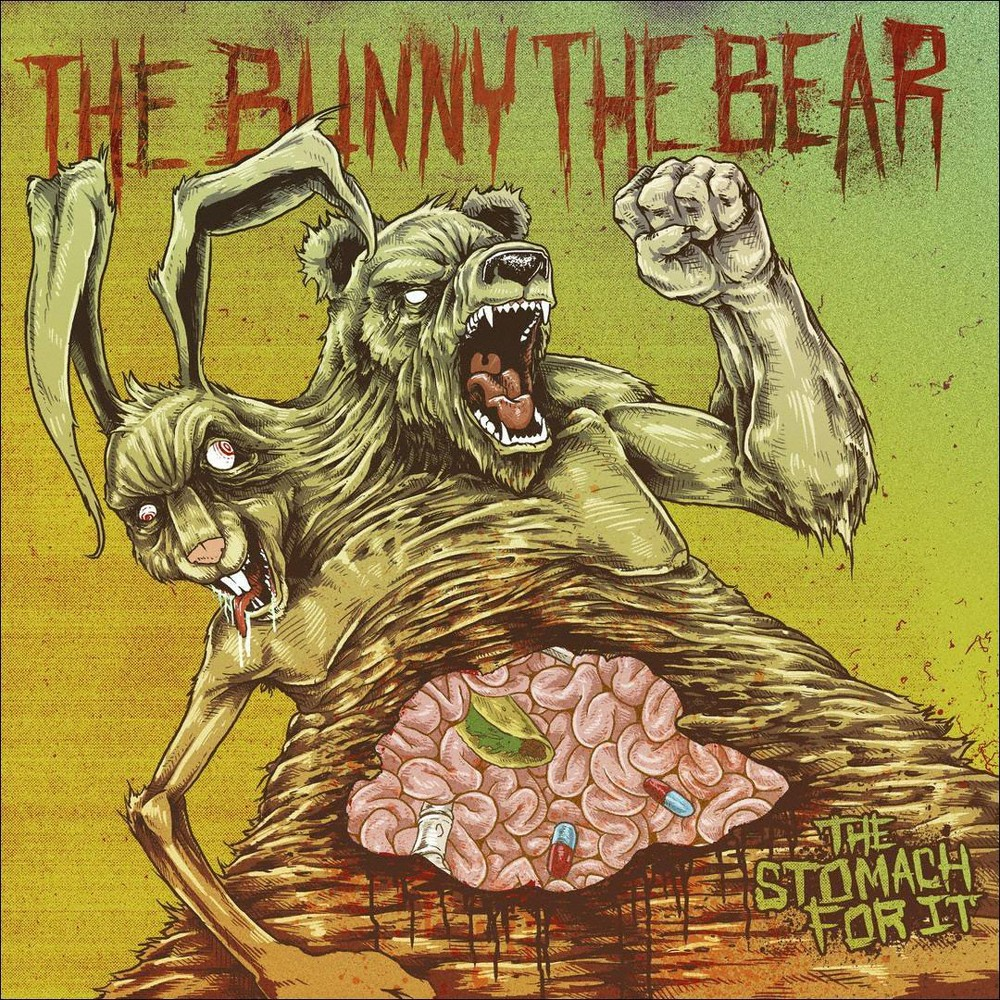 Bunny The Bear - Stomach For It (CD)