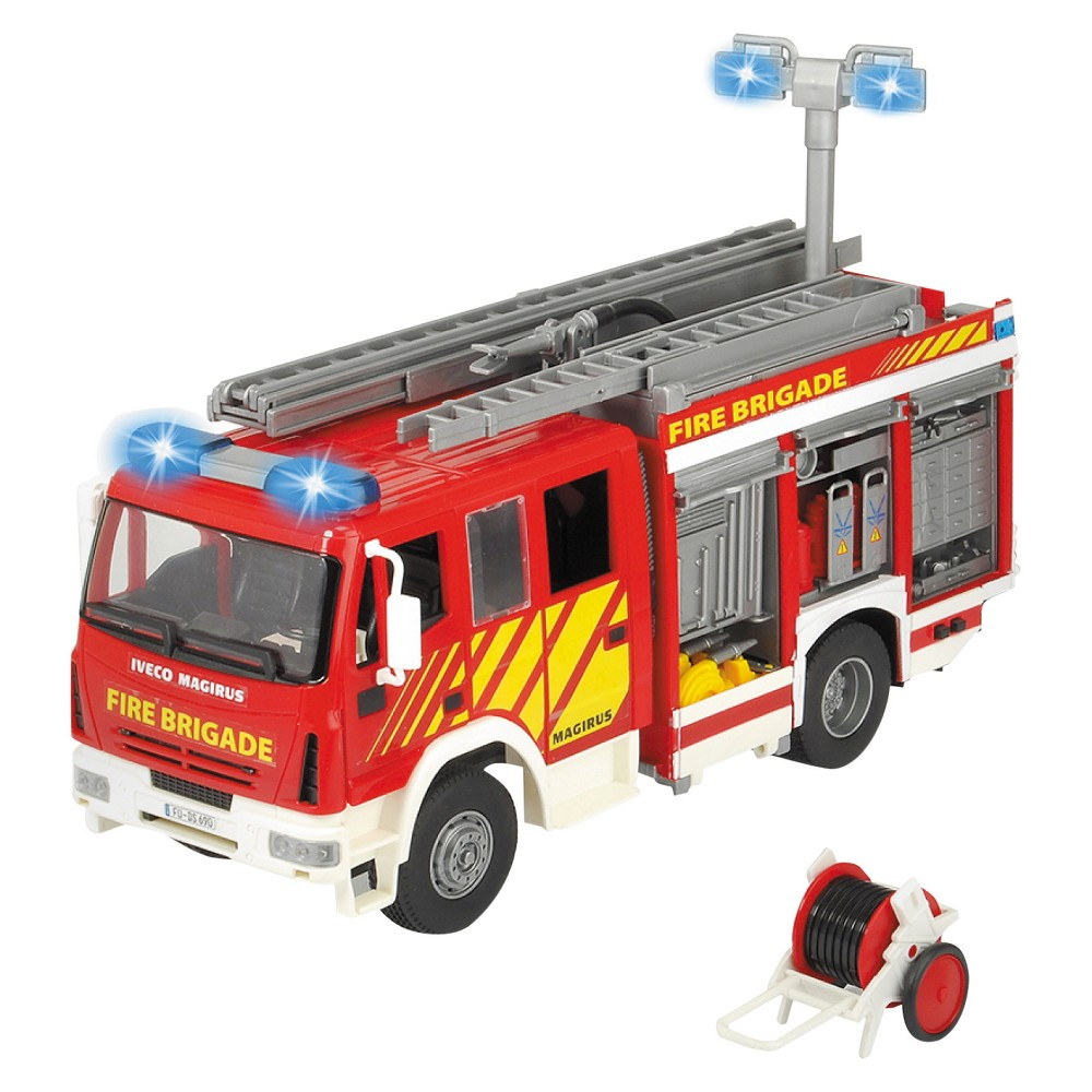 Dickie Toys - Iveco Fire Engine Lights and Sound