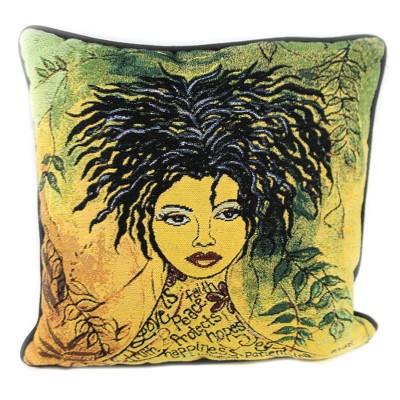 "Home Decor 16.0"" Love Is Pillow Motivate Inspire  -  Decorative Pillow"