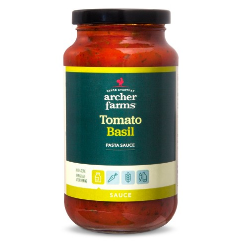 Tomato Basil Pasta Sauces And Marinades - 18oz - Archer Farms™ - image 1 of 1
