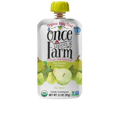 Baby Food: Once Upon a Farm Cold-Pressed