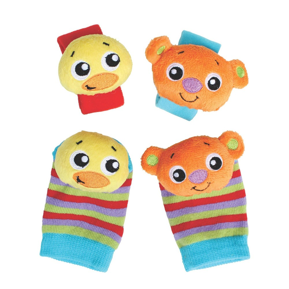 Image of Playgro Hands and Feet Discovery Rattles