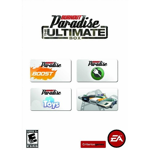 Burnout Paradise: The Ultimate Box Vehicle Pack - PC Game (Digital)