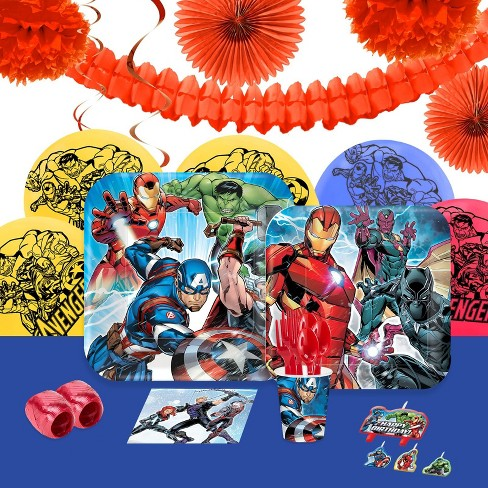 16 Guest Party Pack BuySeasons Epic Avengers Decoration Kit - image 1 of 1