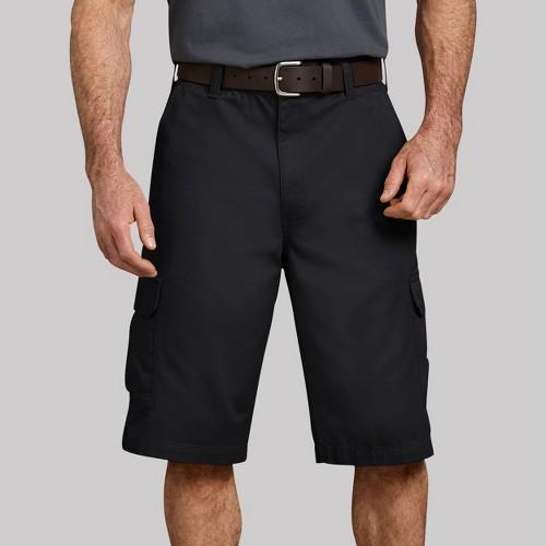 Dickies Men's Big & Tall 16 Loose Fit Cargo Shorts - Black 48