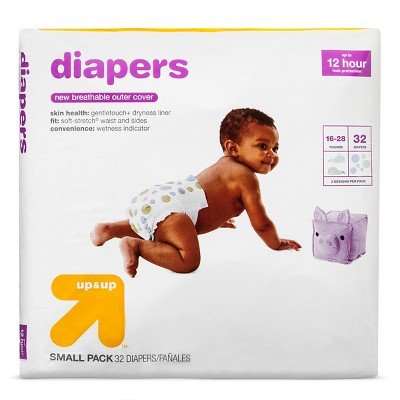 Diapers Small Pack - Size 3 - 32ct - Up&Up™
