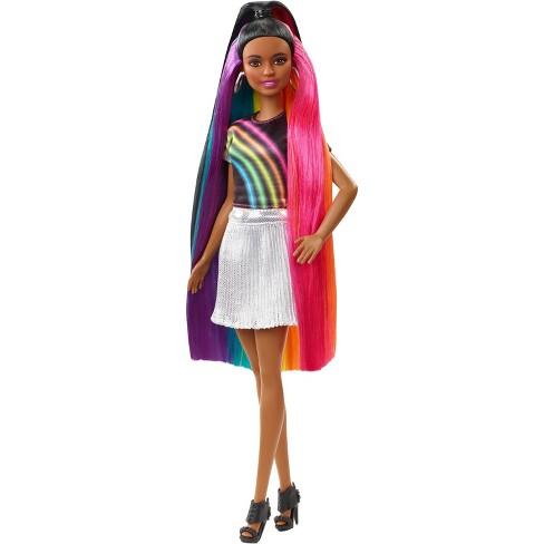 Barbie Rainbow Sparkle Hair Nikki Doll   Target 82416246e