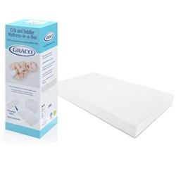 "Graco Deluxe Foam 5"" Crib and Toddler Bed Mattress"