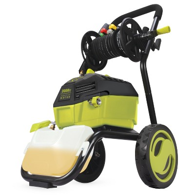 Sun Joe SPX4601 High Performance Electric Pressure Washer | 3000 PSI Max | 1.30 GPM | 20-Ft Hose Reel