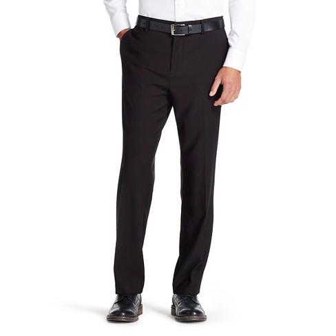 Mens Slim Fit Suit Pants Black Mossimo Target