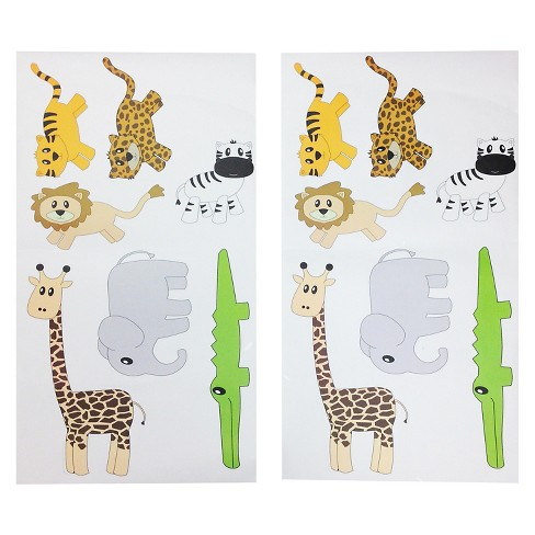 """One Grace Place Jazzie Jungle Boy Wall Decals (20""""X36"""") - image 1 of 3"""