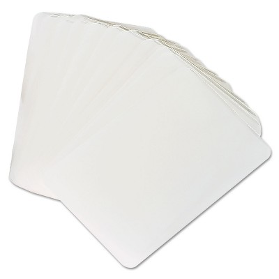 Universal Clear Laminating Pouches 5 mil 2 1/8 x 3 3/8 Business Card Style 25/Pack 84650