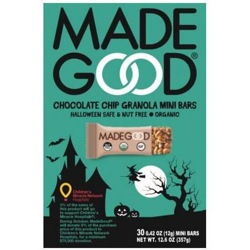 MadeGood Organic Mini Chocolate Chip Granola Bars - 36ct - image 1 of 1