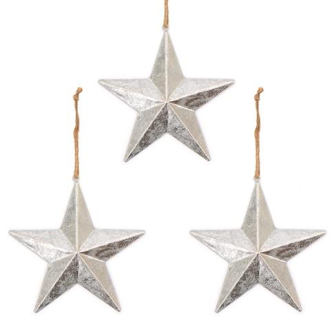 Star Christmas Ornament Silver Wondershop
