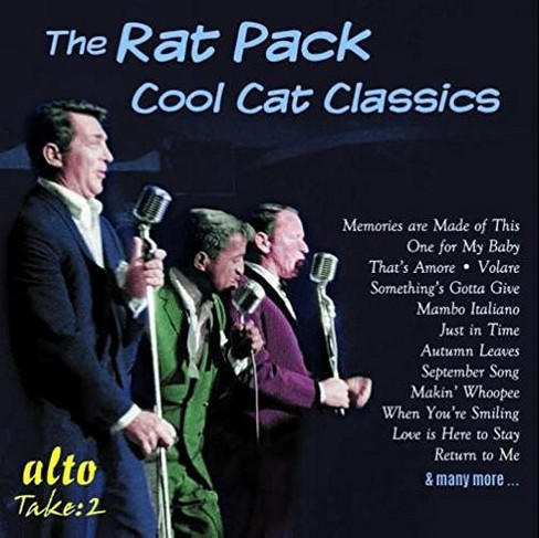 Rat pack - Cool cat classics sinatra martin davi (CD) - image 1 of 1