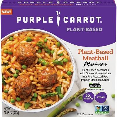 Purple Carrot Frozen Plant-Based Meatball Marinara - 10.75oz