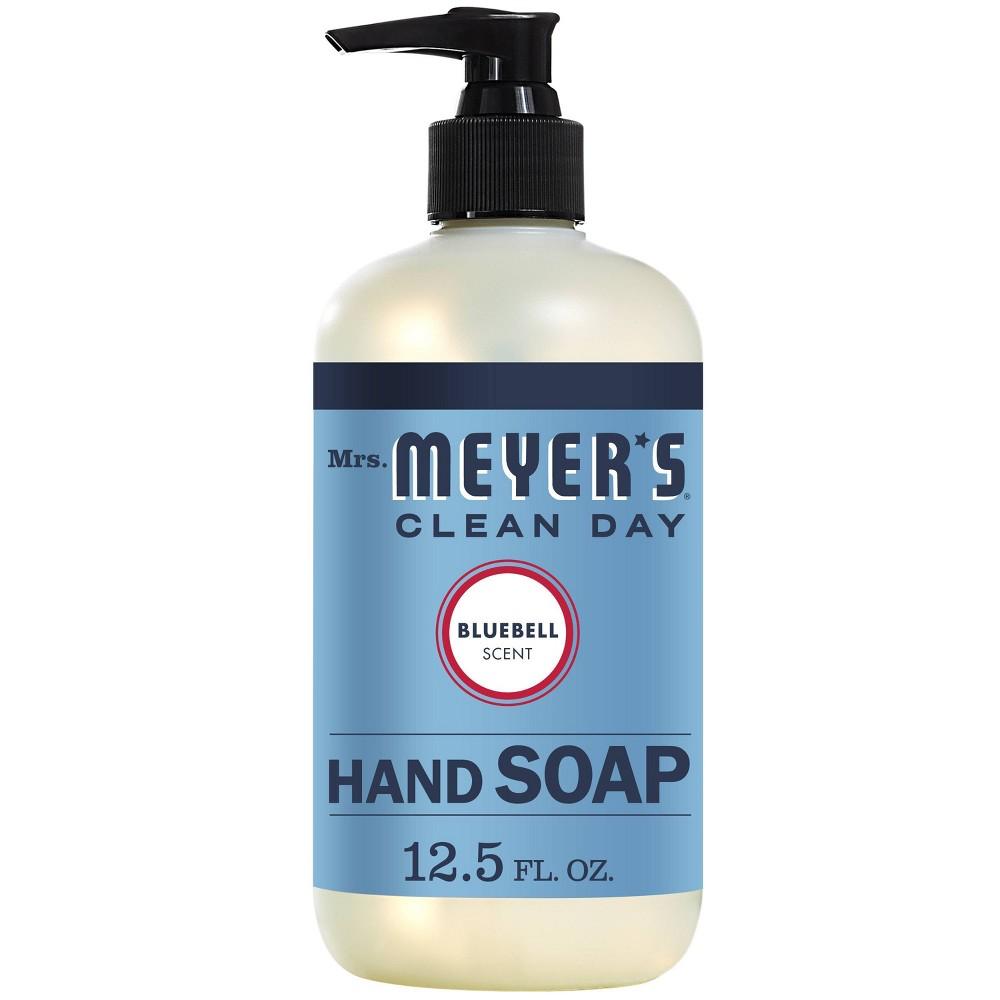 Image of Mrs. Meyer's Bluebell Liquid Hand Soap - 12.5 fl oz