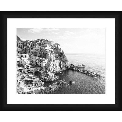 City In The Rocks Framed and Matted Print - PTM Images