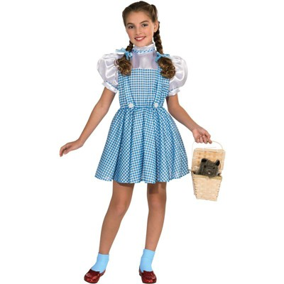 The Wizard of Oz The Wizard of Oz Dorothy Halloween Sensations Child Costume