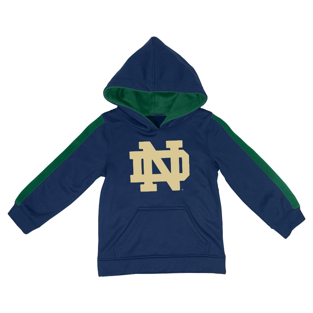 NCAANotre Dame Fighting Irish Toddler Boys' Sweatshirt - Navy (Blue) 4T