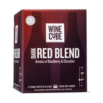 Dark Red Blend Red Wine - 3L Box - Wine Cube™