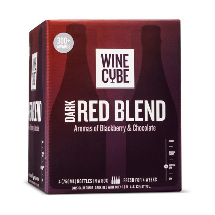 Dark Red Blend Red Wine - 3L Box - Wine Cube™ - image 1 of 2