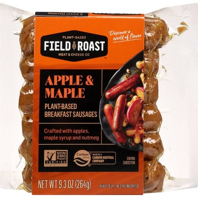 Field Roast Vegan Apple Maple Breakfast Sausage - 9.3oz/12ct