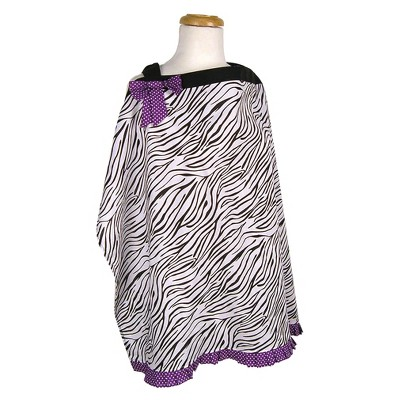 Trend Lab Nursing Cover - Grape Expectations