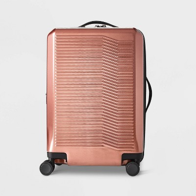 "Hardside 21"" Carry On Suitcase Rust - Open Story™"
