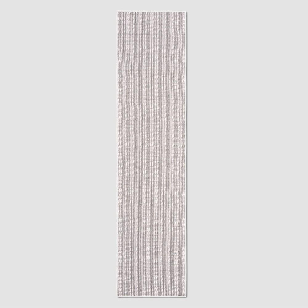 Zella 2' x 8' Outdoor Runner Ivory/Light Gray - Safavieh, Gray/Ivory
