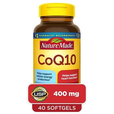 Nature Made CoQ10 400 mg Softgels - 40ct