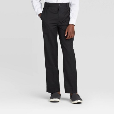 Oxford Boys' Suiting Tuxedo Pants - Black