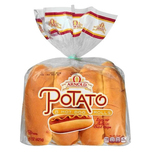 Arnold Brownberry Oroweat Potato Hot Dog Roll - 8ct/15oz - image 1 of 1
