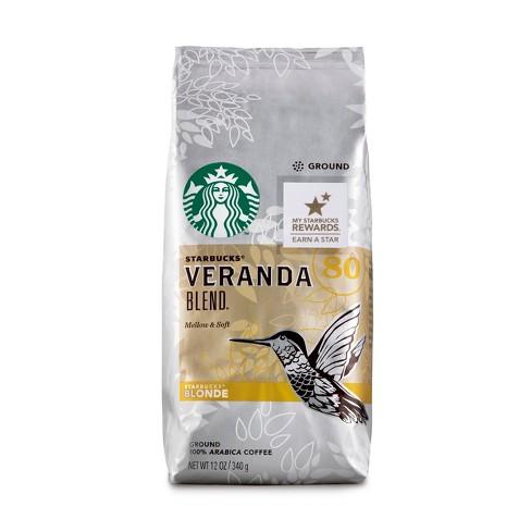 Starbucks Veranda Blend Blonde Light Roast Ground Coffee - 12oz - image 1 of 3