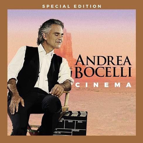 Andrea Bocelli - Cinema (Special Edition) (CD) - image 1 of 1
