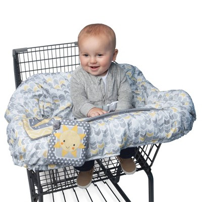 Boppy Shopping Cart and Restaurant High Chair Cover - Sunshine