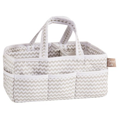 Trend Lab Gray Chevron Storage Caddy